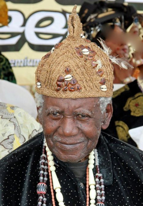 Chief SML Endeley-Paramount Chief of Buea