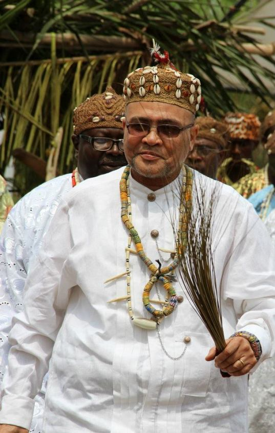 His Royal Highness Chief Humphrey Tande Mosenge of Small Soppo-Wonganga