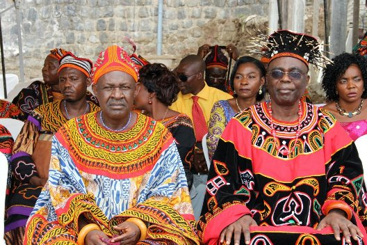 The Fons of Bafut and Bali at the Coronation of Chief Mosenge