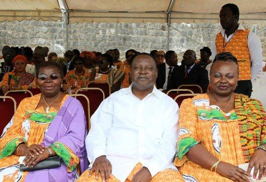 Dorothy Njeuma, Njie Meoto and Elsie Efange