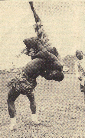 Wrestling Competition Fako vs Meme 1970