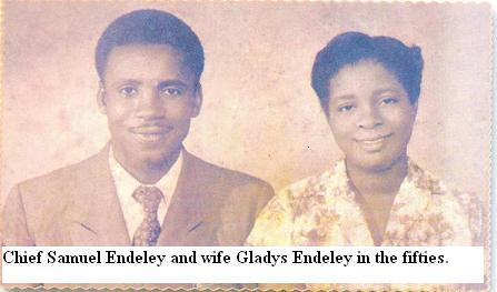Sam and Gladys Endeley