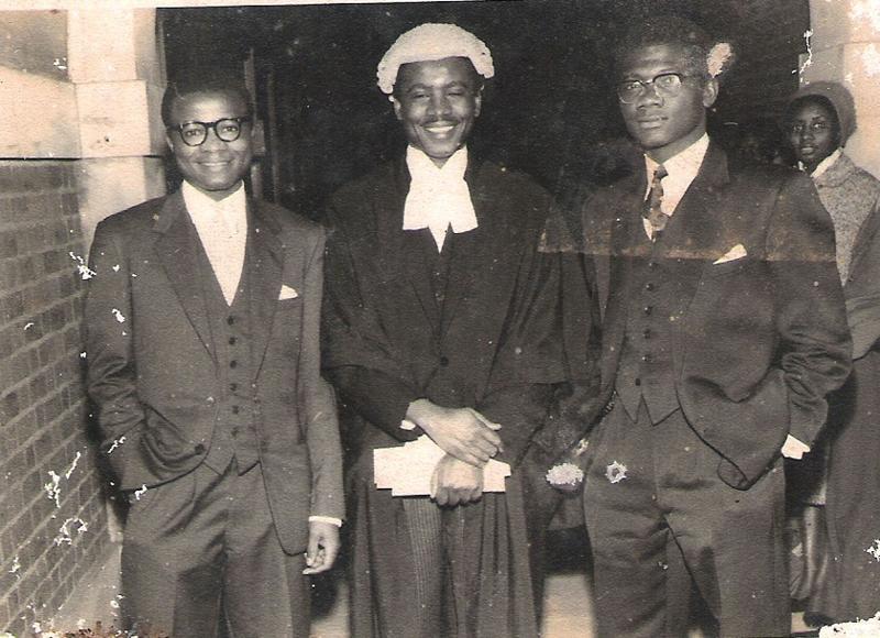 Fred Ngomba Eko, Samuel Moka Lifafa Endeley and Koffi Mensah (c) Henry Monono_Cameroon Census