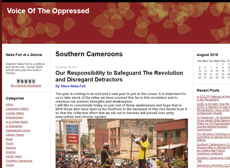 Voice of The Oppressed1
